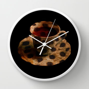CHEE-TEA Wall Clock by catspaws