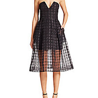 NICHOLAS - Window Lace Bustier Dress - Saks Fifth Avenue Mobile
