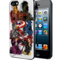 The Avenger Painting Samsung Galaxy S3 S4 S5 S6 S6 Edge (Mini) Note 2 4 , LG G2 G3, HTC One X S M7 M8 M9 ,Sony Experia Z1 Z2 Case