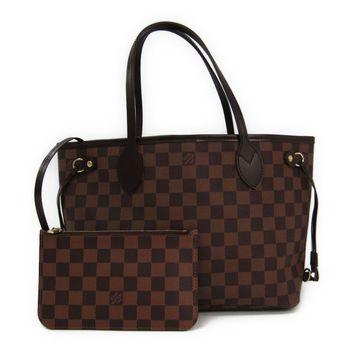 Louis Vuitton Damier Neverfull PM N41359 Women's Tote Bag Ebene BF316654