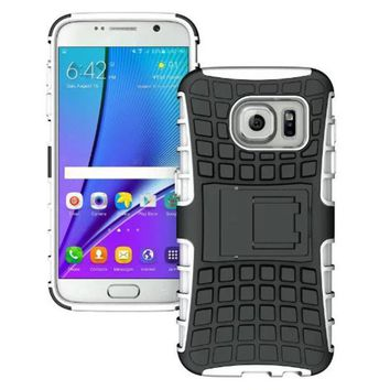Shockproof Soft Cover With Stand For Samsung Galaxy S7