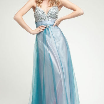 KC14221 Prom Dress Blue/Pink by Kari Chang Couture  SALE $179