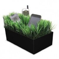 Grass charging station for Mobile phones, Media players, Cameras