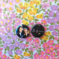 The X Files Button Set 1 Button by nastynasty on Etsy