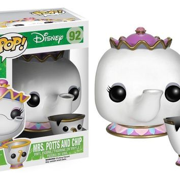Funko Pop! Disney: Beauty & The Beast  Mrs. Potts & Chip 92 3898