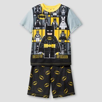 Boys' Pajama Set Grey - Lego Batman