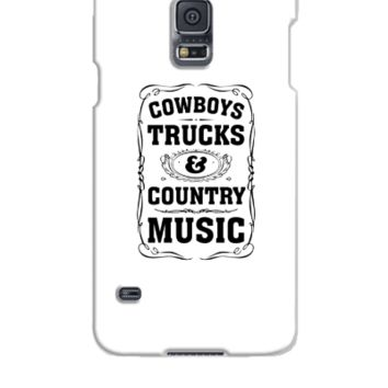 Cowboys, Trucks & Country Music - Samsung Galaxy S5 Case