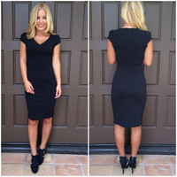 Biz Little Black Pencil Dress