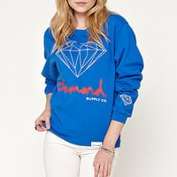 Diamond Supply Co Diamond Script Pullover Fleece at PacSun.com
