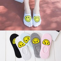 Cotton Summer Transparent Lovely Socks [8362387079]