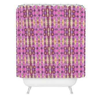 Ingrid Padilla Ornate Pink Shower Curtain
