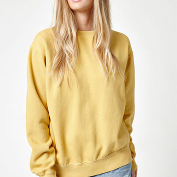 John Galt Gold Erica Crew Neck Sweatshirt at PacSun.com
