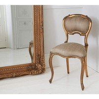Versailles Baby Gold Chair | French Accent Chair
