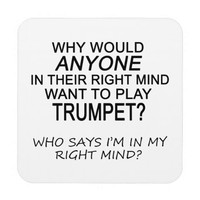 Right Mind Trumpet Coasters