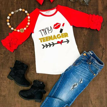 RTS Tiny Teenager Raglan D-47
