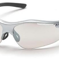 Pyramex Fortress SS3780D I/O Mirror Lens Safety Glasses Protective Eyewear ANSI