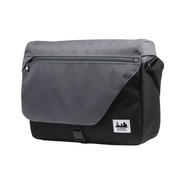 Projekt Workshop Messenger Bag Black/Charcoal