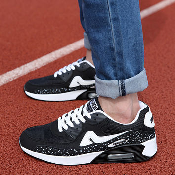 Hot Deal Stylish Hot Sale Comfort Casual On Sale Height Increase Sports Men's Shoes Couple Fashion Shoes Permeable Korean Jogging Sneakers [9257019084]