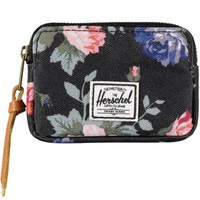 Herschel Supply Oxford Black Floral Pouch