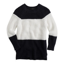 J.Crew Womens Sailor-Striped Sweater