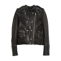 Rojan  Letaher Jacket - Leather Jacket - Black - Jacktes - Women - IRO