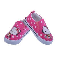 Hello Kitty Kids Shoes 2016 Children Shoes Casual Canvas Shoes Kid Sneakers Girls Shoes Toddler Girls Sneakers Slip on Loafers