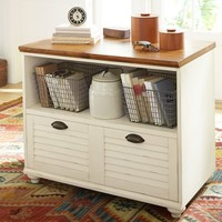 WHITNEY LATERAL FILE CABINET
