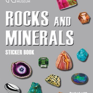 Rocks and Minerals Sticker Book STK