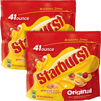 Starburst Original Fruit Chews Candy, 41 ounce (2 Bags)
