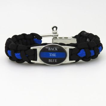 Police Support Bracelet (Multiple Designs)