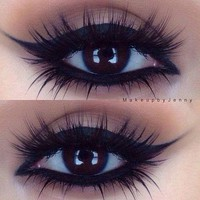 "Gorgeous Night Time ""Cat Eye"" Look 