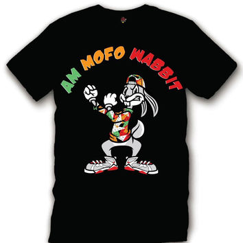 The Fresh I Am Clothing Mofo Wabbit Hare 7's Tee