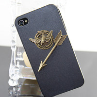 Hunger Games Inspired Mockingjay Hard Case Cover by BeautyandLuck