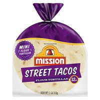 Mission Street Tacos Flour Tortillas 24 ct
