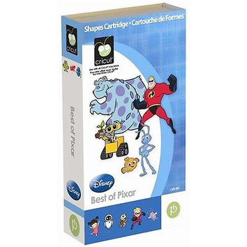 On Sale!!! Reduced Price!!! Brand New --  Cricut Disney Cartridge BEST OF PIXAR -- Hard to Find
