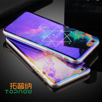 TPU Case for iPhone 6 6S 6 Plus 6sPlus New Arrival For iPhone7 7Plus Cover IMD Flower Blu-ray Soft Silicon Phone Cases -iHomegifts