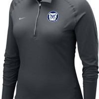 Nike Butler University Bulldogs Women's Dri-Fit 1/4 Zip Top | Butler University