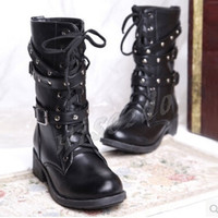 Martin Ankle Boots Autumn/Winter Women's Leather Motorcycle Boots Botas Femininas Snow Shoes Woman ZY425 = 1945768068