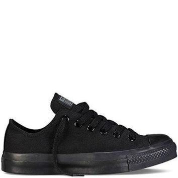 DCKL9 Men & Women Converse Chuck Taylor All Star Low Top (10.5 Men 12.5 Women, Black Monochr