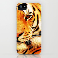 Eye of Tiger - for iphone iPhone & iPod Case by Simone Morana Cyla