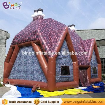 9x7x7.6m/30ft*23ft*25ft giant outdoor inflatable party event house room,inflatable pub tent,inflatable irish pub bar toy tent