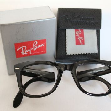 GENUINE AUTHENTIC RAYBAN 4105 FOLDING WAYFARER READING GLASSES