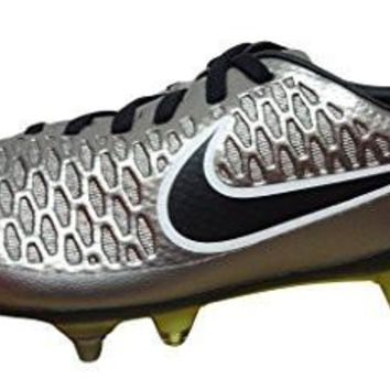 nike magista opus SG-PRO mens football boots 649233 soccer cleats soft ground (US 9.5, metallic pewter white 011)