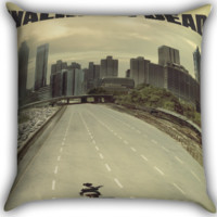 The Walking Dead Zombies Zippered Pillows  Covers 16x16, 18x18, 20x20 Inches