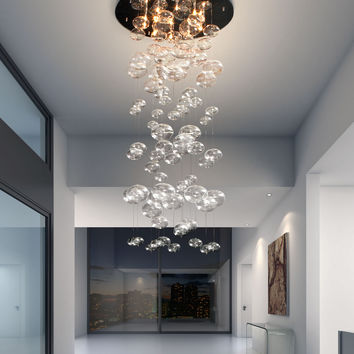 Zuo Inertia Ceiling Lamp Clear - 50115