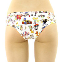 90'S CARTOON PANTIES