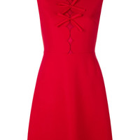 Giambattista Valli Bow Front Sleeveless Mini Dress - Farfetch