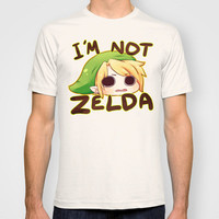 Link is not Zelda. T-shirt by IHomicide