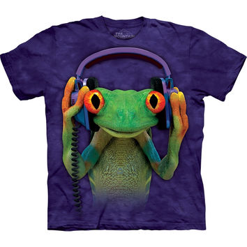Tree Frog DJ Peace T-Shirt