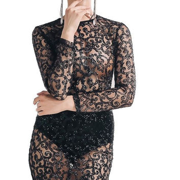 Brinley Sequin Dress